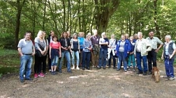 Waldbegang am 13.05.2016 © Stadt Bad Gandersheim
